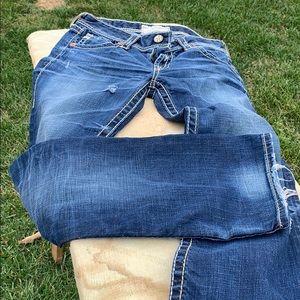 S 29 big star jeans.
